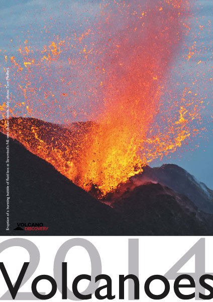 Volcano calendar 2014 - cover preview